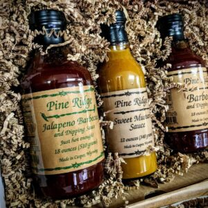 Shop Wyoming Pine Ridge BBQ & Dipping Sauce: Large Gift Set