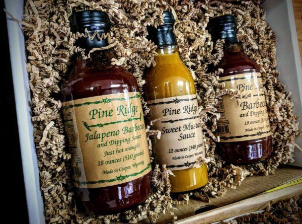 Shop Wyoming Pine Ridge BBQ & Dipping Sauce: Large Gift Set