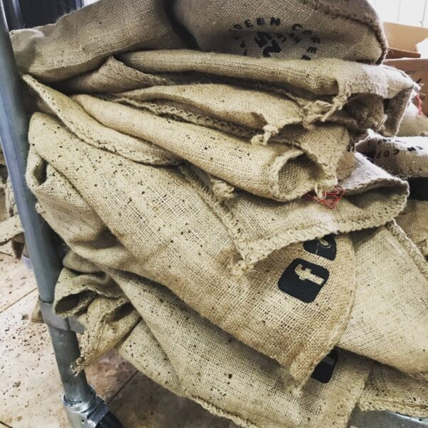 Shop Wyoming Recycled Coffee Burlap Bags