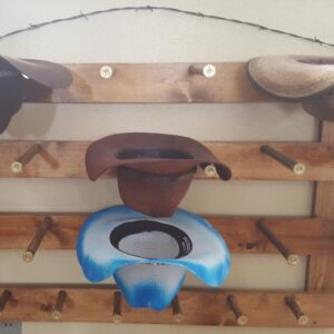 Shop Wyoming 9 Capacity Cowboy Hat Rack