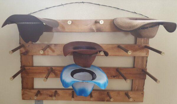 Shop Wyoming 9 Capacity Cowboy Hat Rack