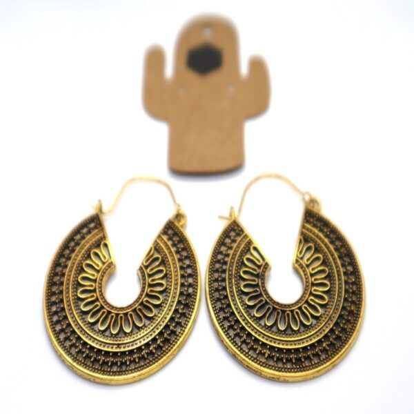 Shop Wyoming Golden Palace Style Dangled Earrings