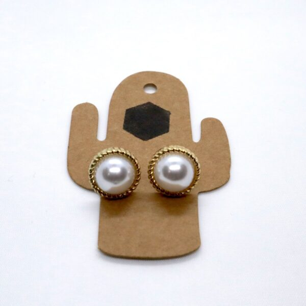 Shop Wyoming Pearls with Golden Outline – Set of 2 Pairs