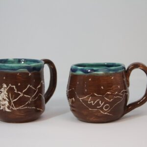 Shop Wyoming Wyo carved Mug