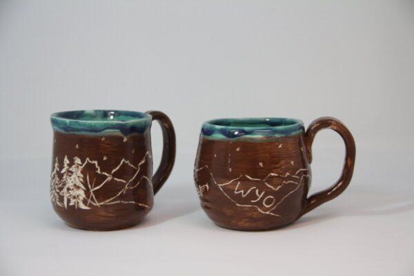 Shop Wyoming Wyo carved Mug