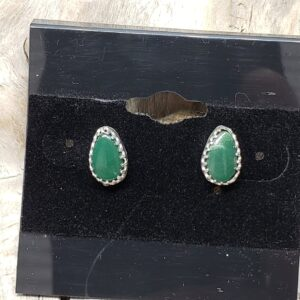 Shop Wyoming Yellowstone Variscite Pear shape earrings
