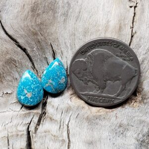 Shop Wyoming Mongolian Turquoise pair