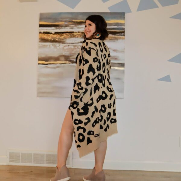 Shop Wyoming Leopard Cardigan