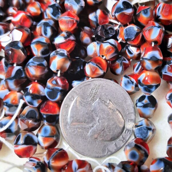 Shop Wyoming 8mm Red Tiger's Eye Nugget Beads 10ct