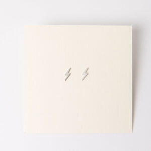 Shop Wyoming Tiny Bolt Earrings | Sterling Silver