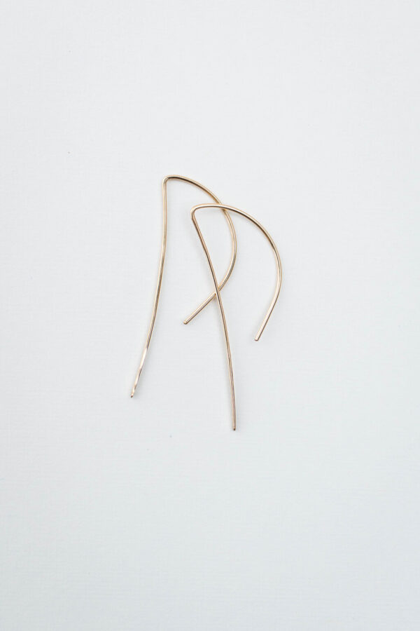 Shop Wyoming Vertical Earrings | Gold Filled