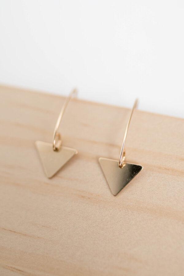 Shop Wyoming Cedar Ridge Earrings   Gold Filled