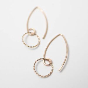 Shop Wyoming Ringlet Earrings | Gold Filled