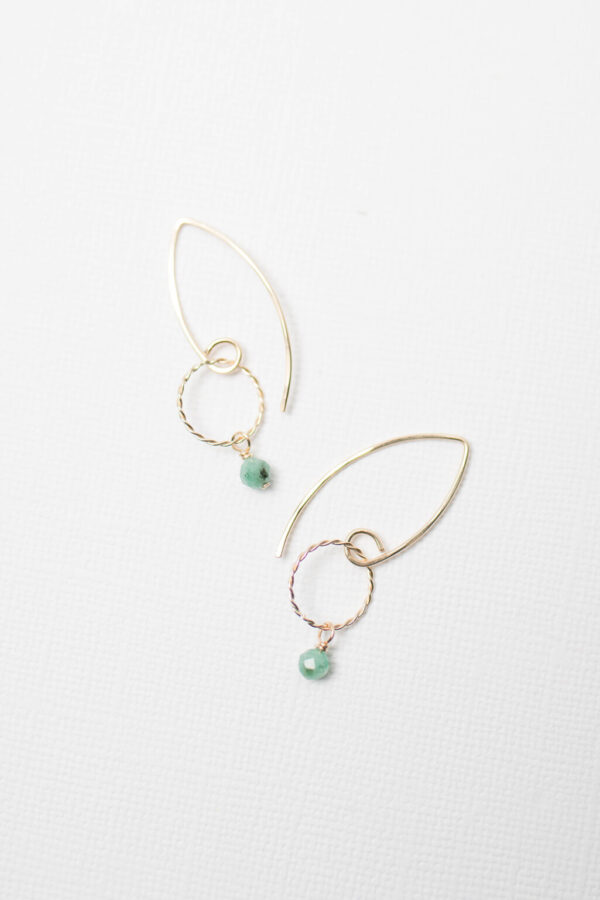 Shop Wyoming Linly Earrings   Gold Filled