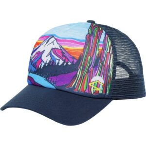 Shop Wyoming Colorful Mountain Trucker