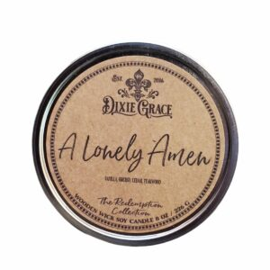 Shop Wyoming A Lonely Amen Candle