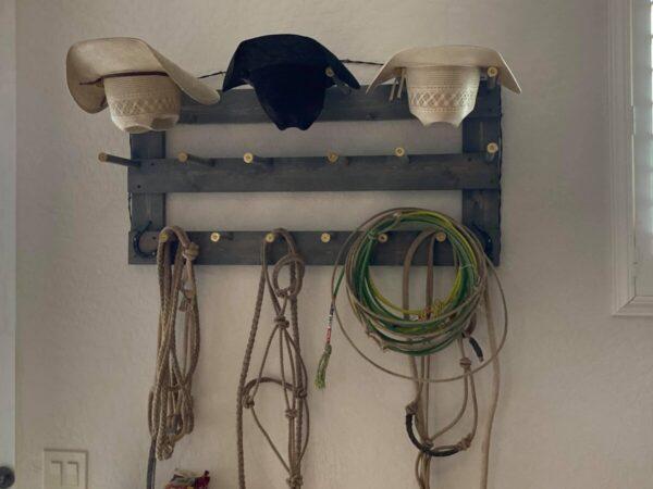 Shop Wyoming 6 Capacity Horizontal Cowboy Hat Rack