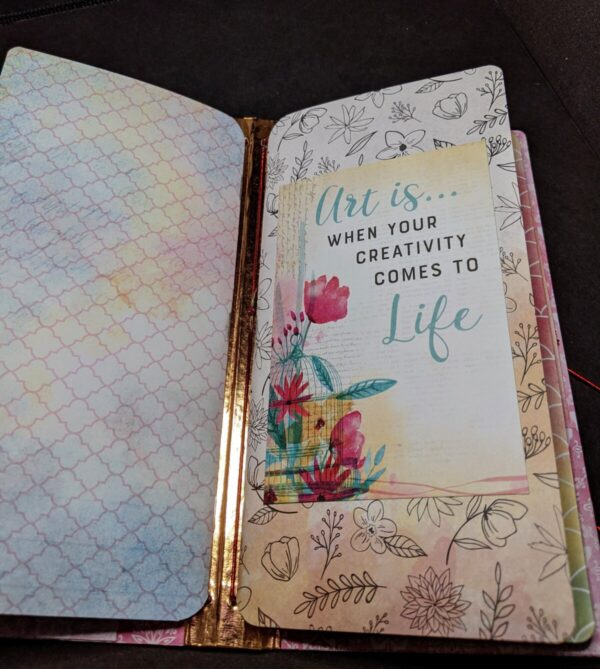 Shop Wyoming Butterfly Floral Notebook 1