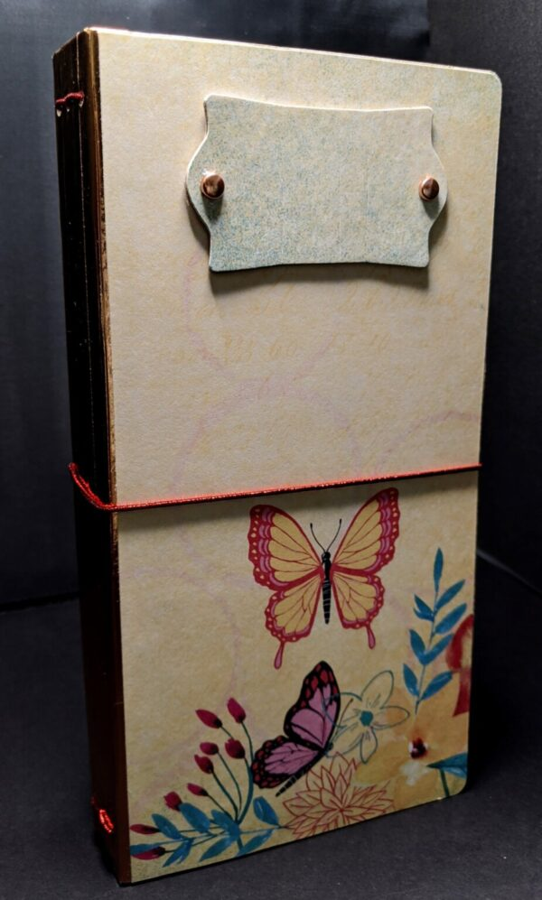 Shop Wyoming Butterfly Floral Notebook 2