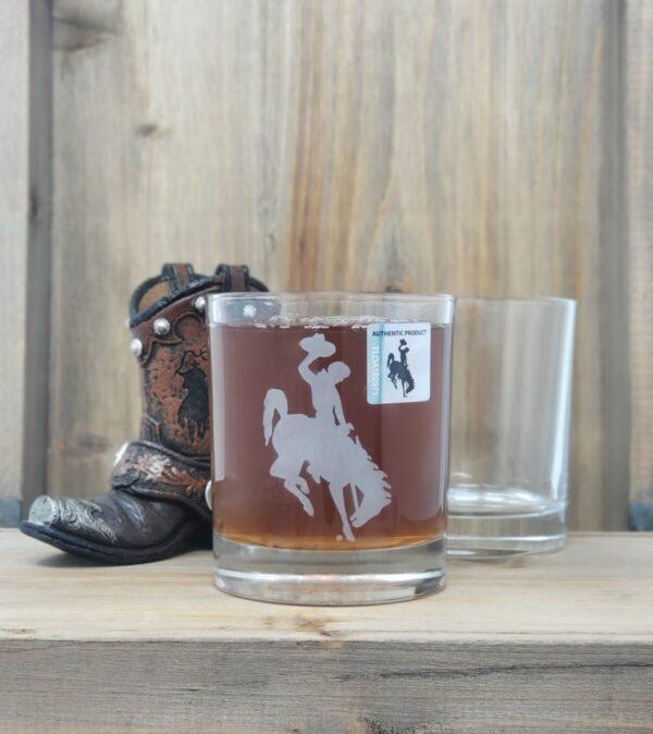Shop Wyoming University of Wyoming Whiskey Glass