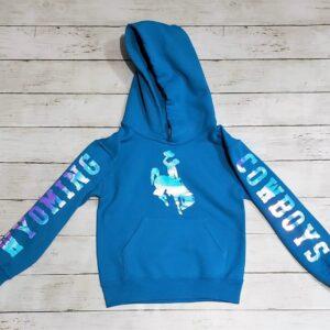 Shop Wyoming Wyoming Cowboys Girls Hoodie