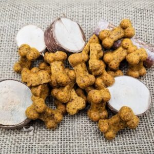 Shop Wyoming Cheesy Chicken Handmade Gourmet Dog Treats – 4 oz. Bag