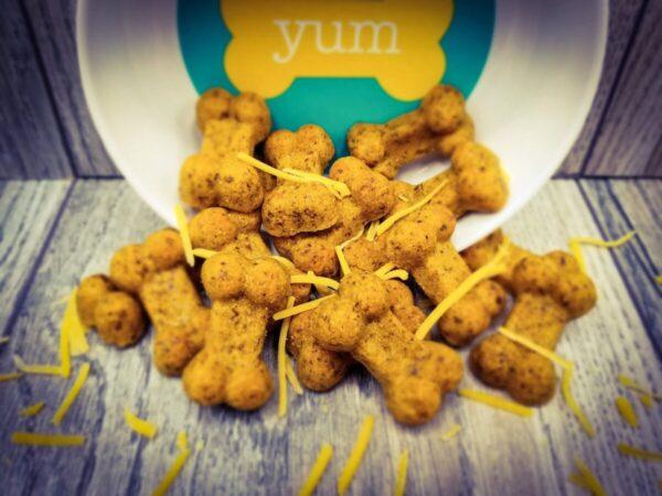 Shop Wyoming Beef & Cheddar Handmade Gourmet Dog Treats – 4 oz. Bag