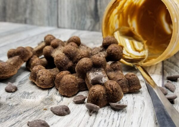 Shop Wyoming Peanut Butter Carob Handmade Gourmet Dog Treats – 8 oz. Bag