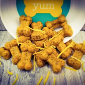 Shop Wyoming Beef & Cheddar Handmade Gourmet Dog Treats – 8 oz. Bag