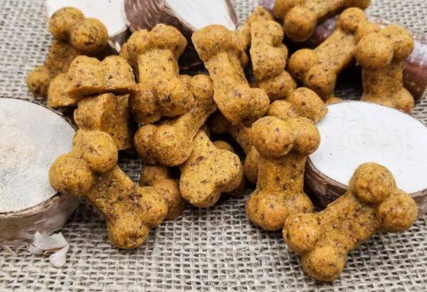 Shop Wyoming Cheesy Chicken Handmade Gourmet Dog Treats – 8 oz. Bag