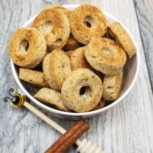Shop Wyoming Honey Cinnamon Donuts Handmade Gourmet Dog Treats – 8 oz. Bag