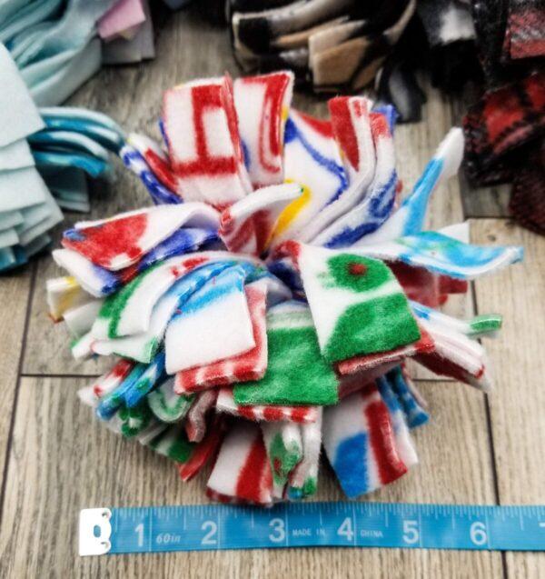 Shop Wyoming Snuffle Ball Soft Handmade Fleece Toys for Dogs – Medium – 6 Inch