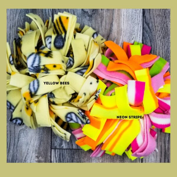 Shop Wyoming Snuffle Ball Soft Handmade Fleece Toys for Dogs – X-Large – 10 Inch