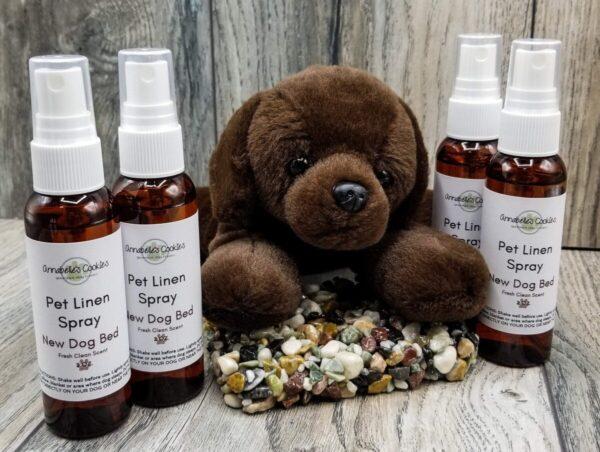 Shop Wyoming Pet Linen Spray Handmade Deodorizing Freshening Spray for Pet Linens – Dog Days, New Dog Bed, No More Zoomies