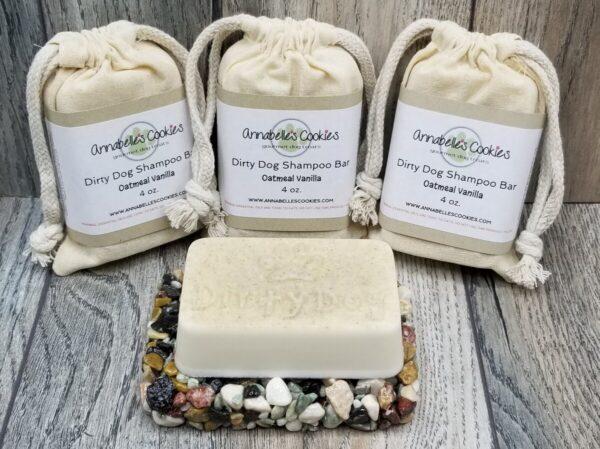 Shop Wyoming Dirty Dog Solid Oatmeal Base Dog Shampoo Bar Handmade Pet Soap Bar Soap for Dogs