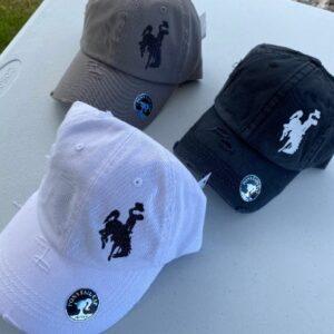 Shop Wyoming Wyoming Cowboys Women's Ponytail Cap