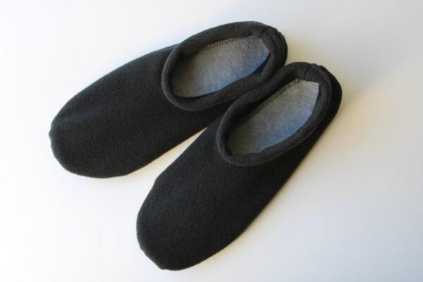 Shop Wyoming Black Slippers/ Non Slip Slipper Socks