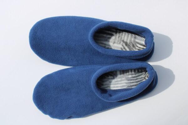 Shop Wyoming Blue Slippers/ Non Slip Slipper Socks