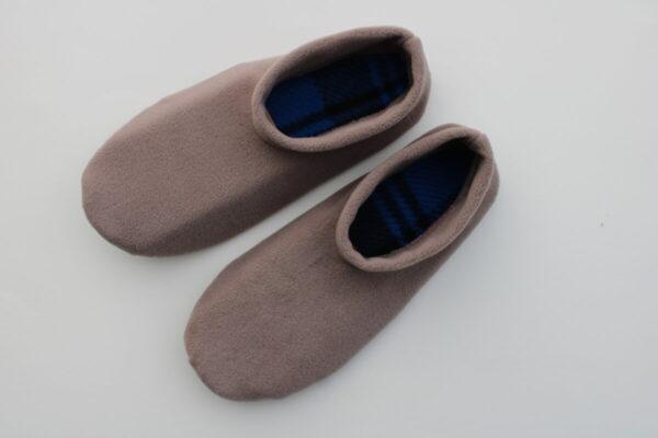 Shop Wyoming Cocoa Meringue Slippers/ Non Slip Slipper Socks