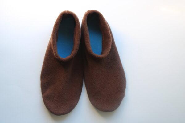 Shop Wyoming Brown Slippers/Non Slip Slipper Socks