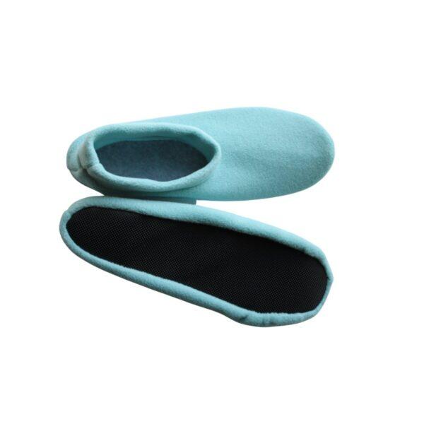 Shop Wyoming Aqua Slippers/ Non Slip Slipper Socks