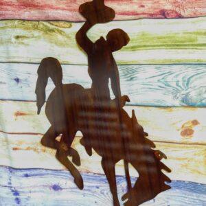 Shop Wyoming Wyoming Bucking Horse Wall Hanging