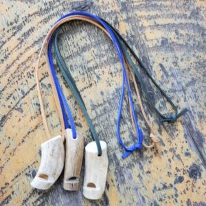 Shop Wyoming Antler whistle necklace | Made in Wyoming