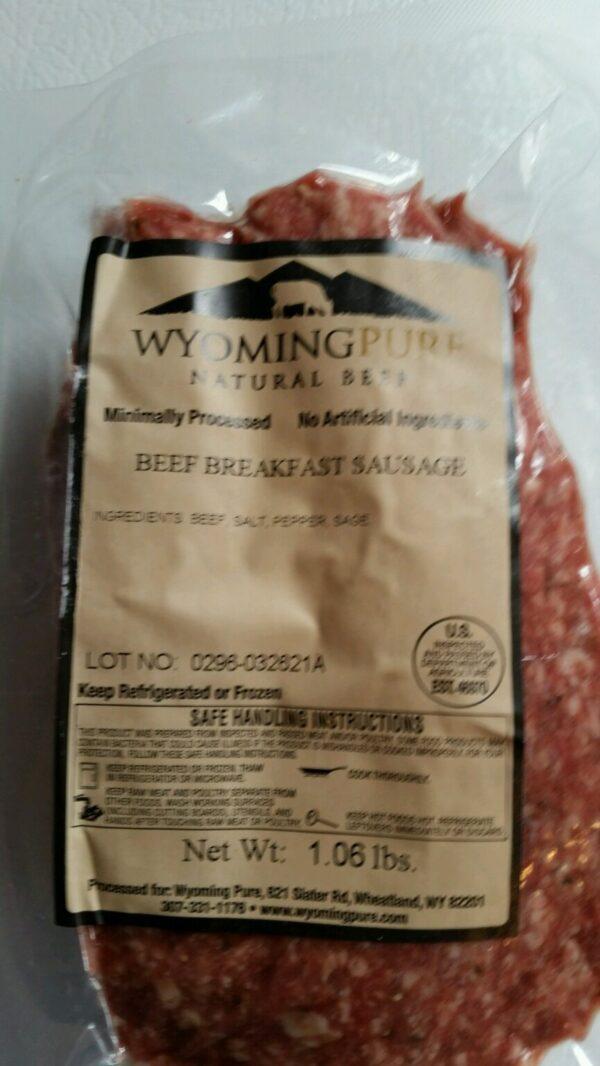 Shop Wyoming Breakfast Sausage (Regular)