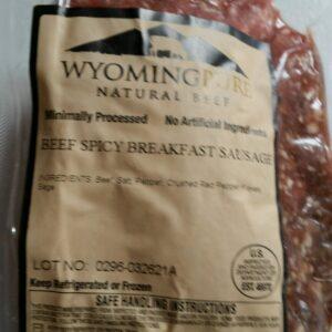 Shop Wyoming Breakfast Sausage (Spicy)