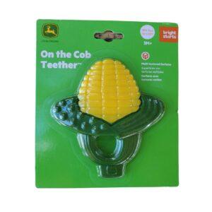 Shop Wyoming John Deere teether |Yellow Corn on the Cob