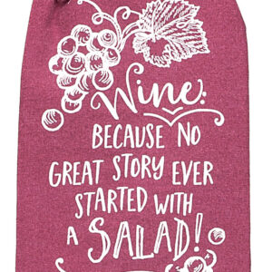 Shop Wyoming Funny Wine Dishtowel | Flour Sack Towel