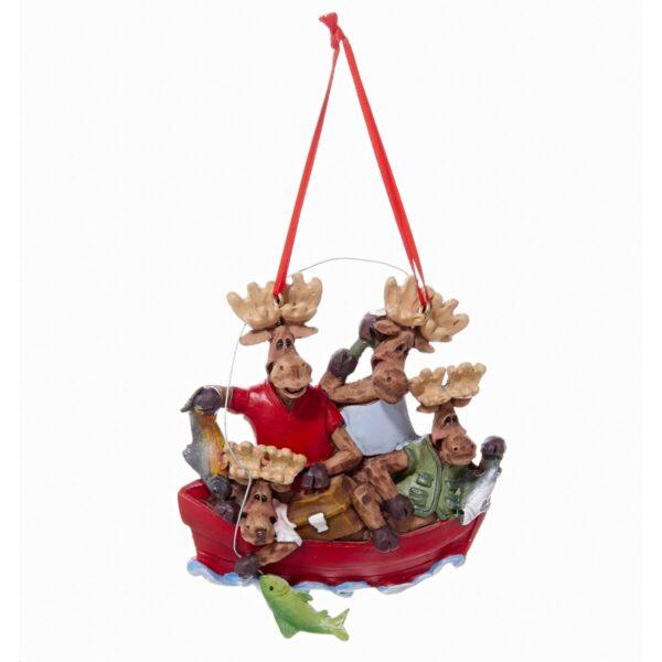 Shop Wyoming 4″ Moose Christmas Ornament