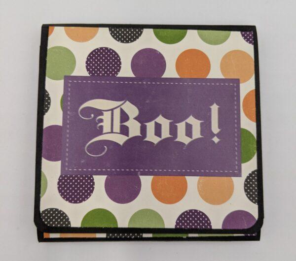 """Shop Wyoming Halloween """"BOO"""" Folding Card Mini Album"""